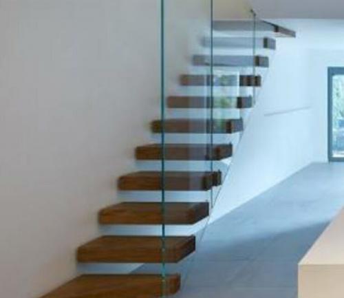 Omurgalı ahşap merdiven 06