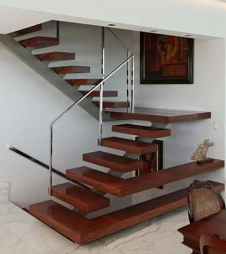 Omurgalı ahşap merdiven 03